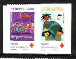 2007-4125/4126**P4125** DESSINS D´ENFANTS AUTOADHESIFS - Unused Stamps