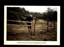 15 - FONTANGES - Agriculture - Cloture - 1986 - France