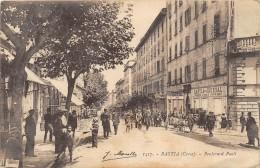 CPA 20 CORSE BASTIA BOULEVARD PAOLI (animée - Bastia