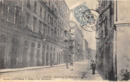 CPA 20 CORSE BASTIA RUE DE L'OPERA - Bastia