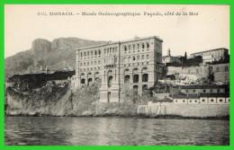 -QUATRE C.P.A MONACO -Musée Océanographique-Nouvel Institut - (rectos Versos) - Prinselijk Paleis