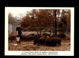 46 - LIVERNON - Eleveur De Sangliers - 1990 - Livernon
