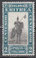 Eritrea  Scott No. 119  Unused Hinged   Year  1930 - Eritrea