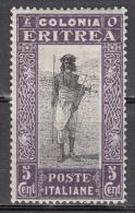 Eritrea  Scott No. 120   Unused Hinged   Year  1930 - Eritrea
