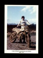 02 - SOISSONS - Alain Teurquet - Coureur Moto-cross - 1981 - Soissons