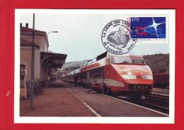 6403 - CARTE POSTALE TRAIN RAIL CHEMIN DE FER CHEMINOT TGV - Other Collections