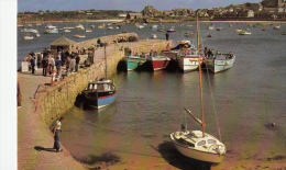 BF13599 The Passenger Boats At T  Isle Of Scilly United Kingdom Front/back Image - Scilly Isles