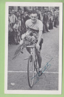 Louis VAN SCHIL , Autographe Manuscrit, Dédicace. 2 Scans. - Cyclisme