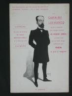 Ref2734 WA CPA De La Carnine Lefrancq - M. Doumer - Tuberculose Zomothérapie. Publicité. - Publicité