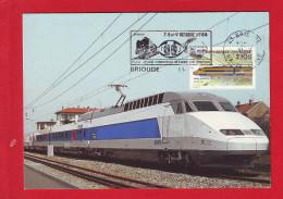 6431 - CARTE POSTALE TRAIN RAIL CHEMIN DE FER CHEMINOT TGV - Unclassified