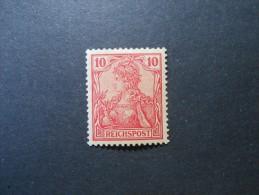 D.R.56 - 10Pf*- Reichspost 1900  Rötlichkarmin - Germany