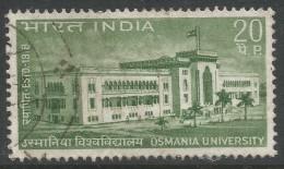 India. 1969 59th Anniv Of Osmania University. 20p Used. SG 586 - India