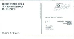 BRD Erfurt Infopost FRW 2013 Marc O´Polo - Textil