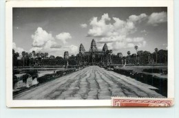 ANGKOR - Vue Générale, Timbre Années 50 - Cambodge