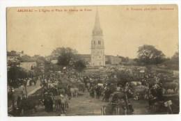 ARCHIAC  _ L'eglise Et Le Champ De Foire - France