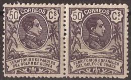 GUI68-LA167.Guinee .GUINEA  ESPAÑOLA.Rey Alfonso Xlll. 1909 (Ed 68**par ) Sin Charnela.MUY BONITO - Guinea Española