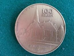 100 Sulren, St. Vincentiuskerk, Zolder, 1982, 16 Gram (medailles0290) - Sonstige