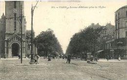CPA Paris (Dep.75) Avenue D'Orléans Prise De L'Église (51473) - France