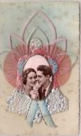 Carte Artisanale Avec Ajoutis : Photo, Ruban Papier Argenté ...   (67978) - Fancy Cards