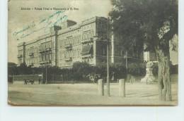 BIVORNO  - Palace Hôtel, Monumento A B.Brin. (cachet Militaire) (carte Vendue En L'état). - Italie