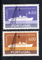PORTUGAL 1958.CONGRESSO MARINHA MERCANTE . AFINSA Nº 841/842.NUEVO  SIN CHARNELA  SES 793 - 1910-... República