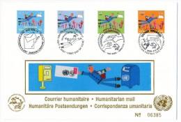 Emission Commune - Nations Unies - Suisse - Courrier Humanitaire - 2007 - FDC Numérotée - Emissions Communes