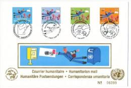 Emission Commune - Nations Unies - Suisse - Courrier Humanitaire - 2007 - FDC Numérotée - Emissions Communes New York/Genève/Vienne