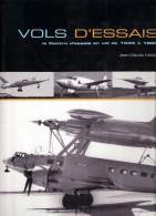 VOLS ESSAI CENTRE ESSAIS 1945 1960 AVIATION FRANCAISE ARMEE AIR PILOTE HISTORIQUE