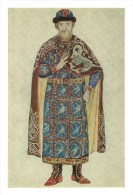 RUSSIA - RUSSIE - RUSSLAND Vinogradova Boyar Costume Sketch - Costumes