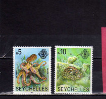 SEYCHELLES 1981 MARINE FAUNA FISHES MARINA PESCI MNH - Seychelles (1976-...)