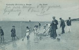 Nordseebad Wittdun A. Amrum - Am Strand (Kinder, Menschen, Hund), No. 36, Soldaten Brief - Other