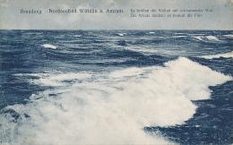 Brandung  Nordseebad Wittdun A. Amrum - # 43235 - PU 1911 - Von Glückstadt & Münden, Soldaten Brief - Other