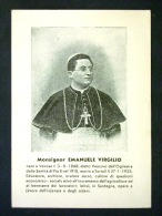 SARDEGNA -NUORO -TORTOLI OGLIASTRA MONS EMANUELE VIRGILIO -F.G. LOTTO N° 373 - Nuoro