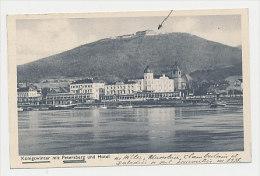 Cpa Postcard AK  KÖNIGSWINTER Mit PETERSBERG Und HOTEL (rencontre En 1938 Hittler Mussolini Chamberlain Daladié - Places