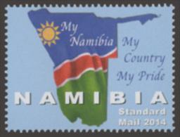 nam14103a Namibia 2014 My Namibia 1v Flag