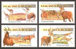 nam14104a Namibia 2014 Antilopes 4v