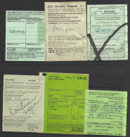 Customs/Douane Labels, 6, Different. - Zonder Classificatie