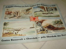 Poster Pacific Japan German Propaganda WWII - Documents