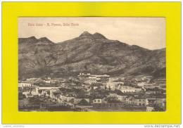 Xx .... Postcard CABO VERDE SÃO VICENTE CAP VERDE AFRICA 1910s - Cap Vert