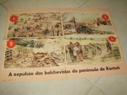 Poster Kerch Ukrania German Propaganda WWII - Documents