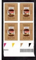 """Italia - 2014 """"50º Anniversario Della Nutella €. 0,70"""" Nuovo In Quartina (A0531) - 6. 1946-.. Repubblica"""