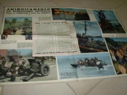 Poster Ukrania Russia Invasion German Propaganda WWII - Documents
