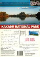 Kakadu NP, Australia Postcard Used Posted To UK 2003 Stamp - Kakadu