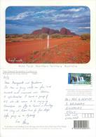 Kata Tjuta The Olgas, Australia Postcard Used Posted To UK 2000 Stamp - Uluru & The Olgas