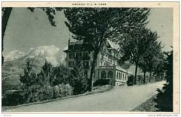 74-COMBLOUX-Le Grand-Hôtel P.L.M.. - Combloux
