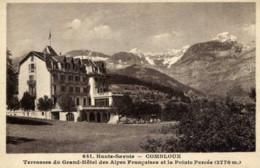 74-COMBLOUX-Terrasses Du Grand Hôtel Des Alpes Françaises,,,,,,, - Combloux