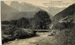Dt-38-GRAND-THIERVOZ -CURTILLARD-Pont  Sur Le Bréda Au Village De La Tour - France