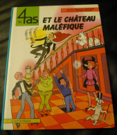 Les 4 As  Et Le Chateau Malefique   EO 1982 BE - 4 As, Les