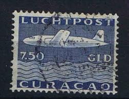 Curacao: NVPH Airmail LP 85 Used (some Paper Of Envelop On Back) - Curaçao, Nederlandse Antillen, Aruba
