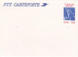 Philatélie - France -  Entier Postal  Carteposte STATUE LIBERTE 1986 N°2421-CP1 - Postal Stamped Stationery